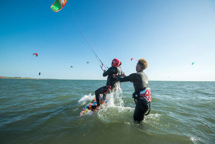 Initiation au kitesurf - Joncheray