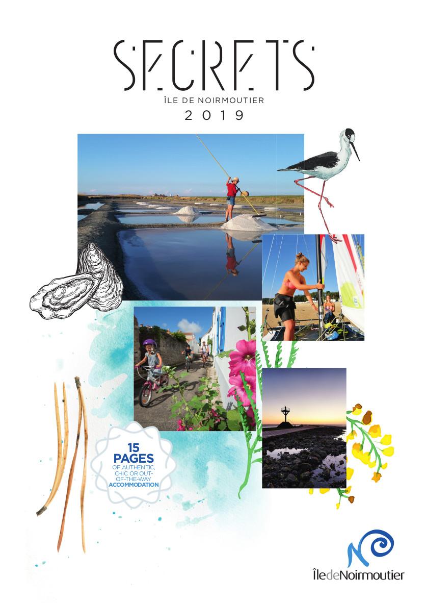 Magazine Secrets hébergements 2019 - île de Noirmoutier