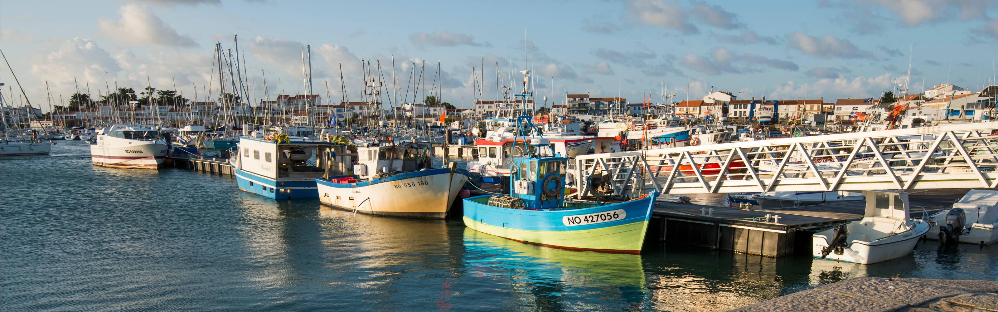 Le port de l 39 herbaudi re p che et plaisance noirmoutier - Office du tourisme ile de noirmoutier ...