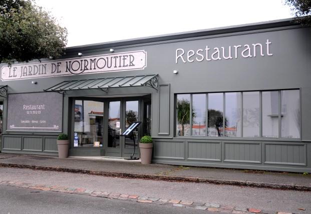 Facade De Restaurant le jardin de noirmoutier - traditional cuisine - noirmoutier
