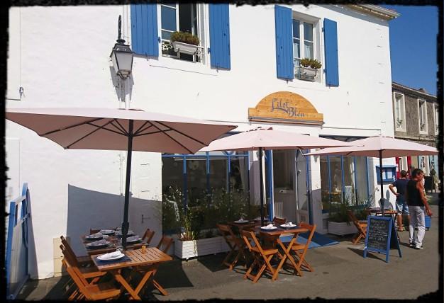 Ile De Noirmoutier Restaurants 2019 L Ilot Bleu