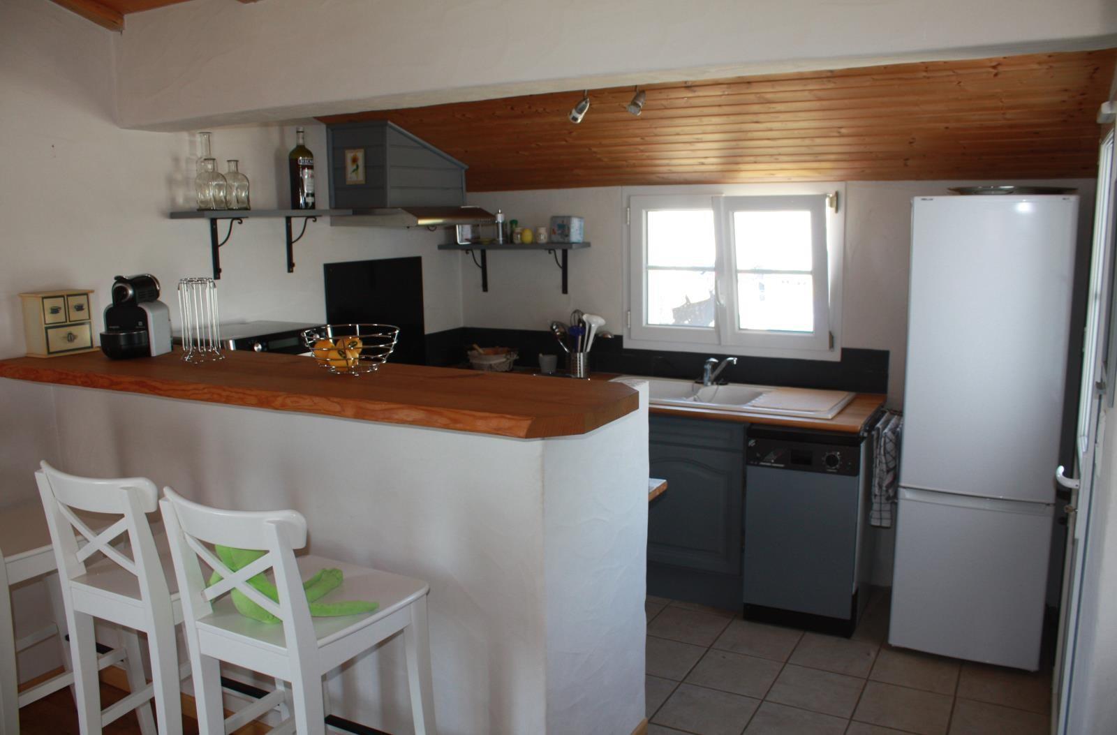 Mais l265 ile de noirmoutier barbatre maison 4 6 for Cabine de plage en bois pour jardin