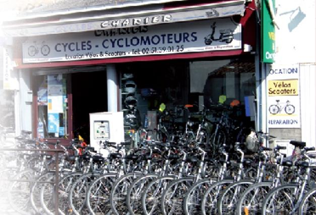 Cycles Charier bike hire