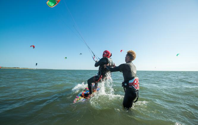 Un week-end à sensation - Kitesurf